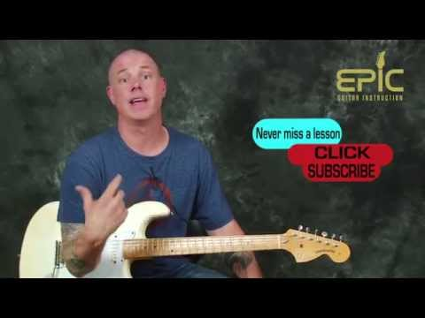 Learn Voodoo Chile Jimi Hendrix Vaughan SRV combo guitar song lesson with chords licks rhythms