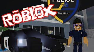 Roblox | Pacifico Driving | I'M A POLICE OFFICER!!!!