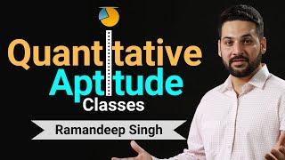 Quantitative Aptitude Classes by Ramandeep Singh