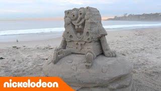Губка Боб из песка | Nickelodeon Россия
