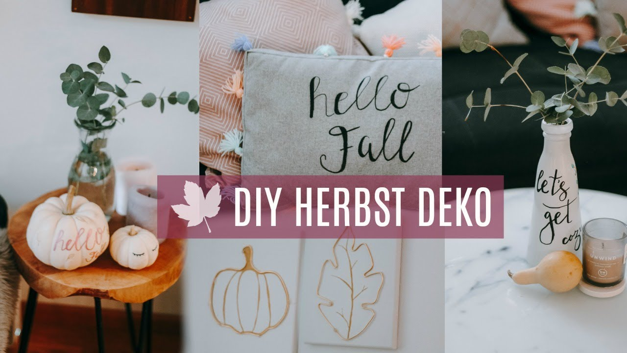 diy herbst deko ideen 2018 verlosung pilot pintor youtube. Black Bedroom Furniture Sets. Home Design Ideas