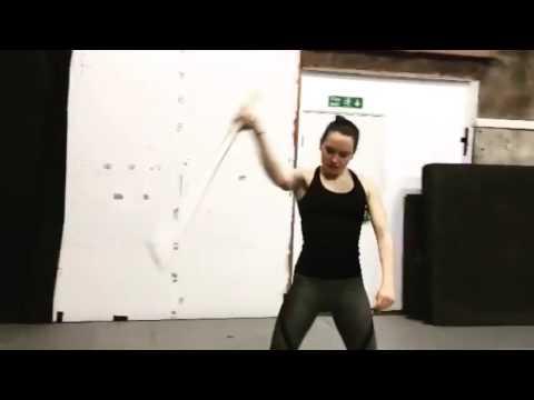 Daisy Ridley: Workout Training