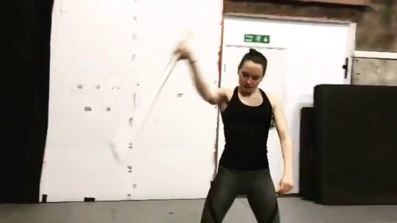 Daisy ridley working out great butt shots 2
