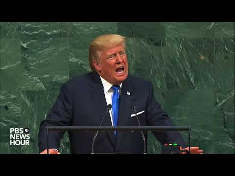 WATCH: President Trump delivers first address to UNGA