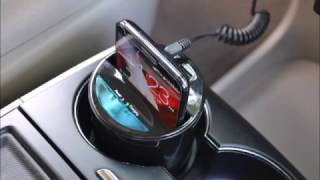 Iloome   Qi Vehicular Wireless Charger   Cup Holder Type