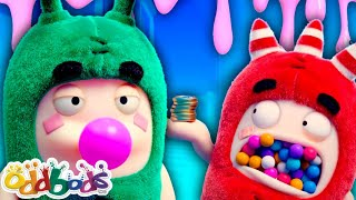 Oddbods ???? JELLY BELLY CANDY ???? Cartoons For Kids