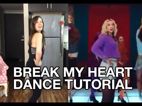 """Break My Heart"" Dance Tutorial (Dua Lipa) | QUAROUTINES"