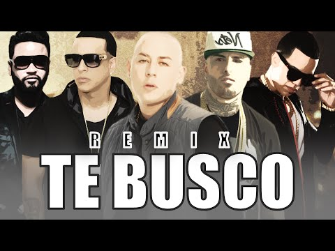 Te Busco (Remix) - Cosculluela Feat. Nicky Jam, Daddy Yankee, J Alvarez & Zion    Reggaeton 2015