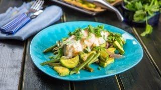 Быстрый и вкусный ужин||Ужин за 30 минут||Куриная грудка, запеченная с зеленой фасолью