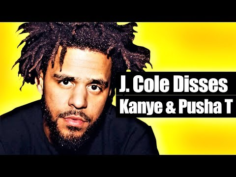 J. Cole's  Middle Child  Is A Kanye West & Pusha T Diss