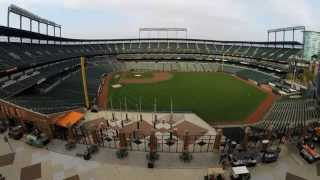 ALDS Game 1: A Time Lapse of Camden Yards