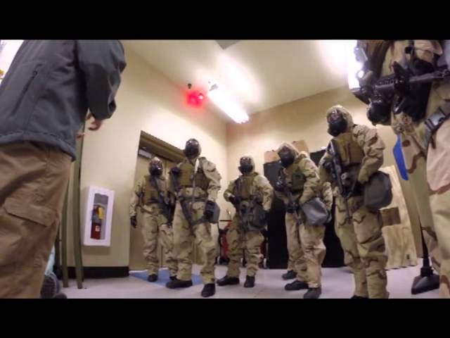 Asymmetric Warfare Group conducts CBRN (Chemical, Biological, Radiological, Nuclear) Training