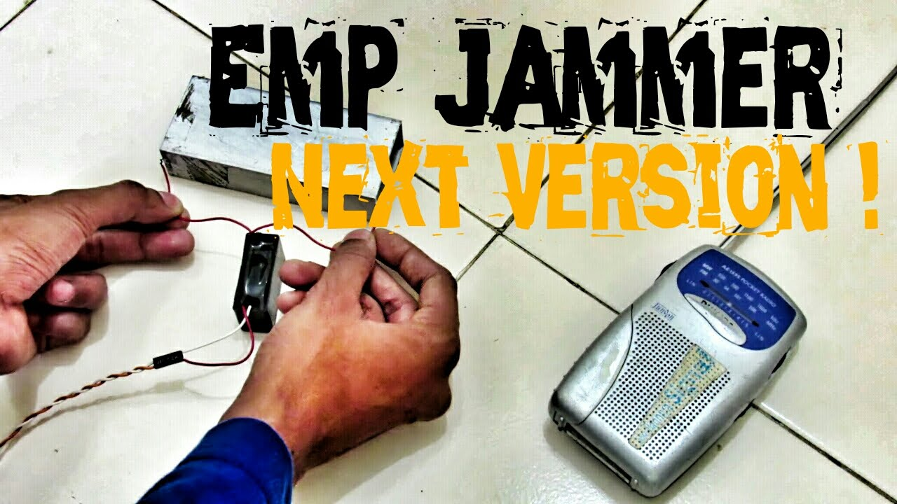 The New Emp Jammer Experiments - Emp Weapon