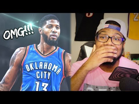 PAUL GEORGE TRADE TO OKC THUNDER! RUSSELL WESTBROOK FINALLY GOT SOME HELP!