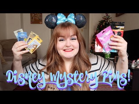 HUGE DISNEY MYSTERY PIN UNBOXING #3 (23 PINS TOTAL)
