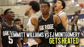Oak Ridge vs Wheeler GETS HEATED!! Emmitt Williams & EJ Montgomery Go AT IT In Crazy GA v FL Matchup