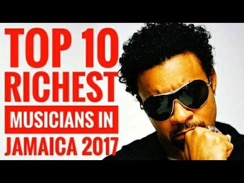 Top Ten Richest Dancehallreggae Musicians In Jamaica Youtube