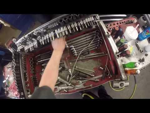 Toyota Camry U241E Transmission removal