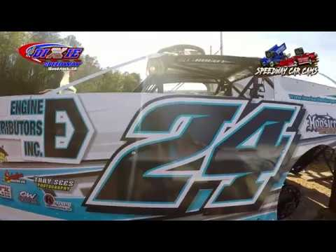 #24 Zach Leonhardi - Super Late Model - 7-28-18 Dixie Speedway - In Car Camera