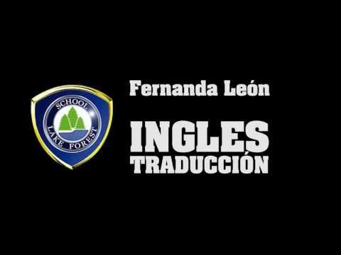 Lake Forest School Traducción