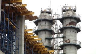 Рустаму Минниханову показали новый завод «Нижнекамскнефтехима»