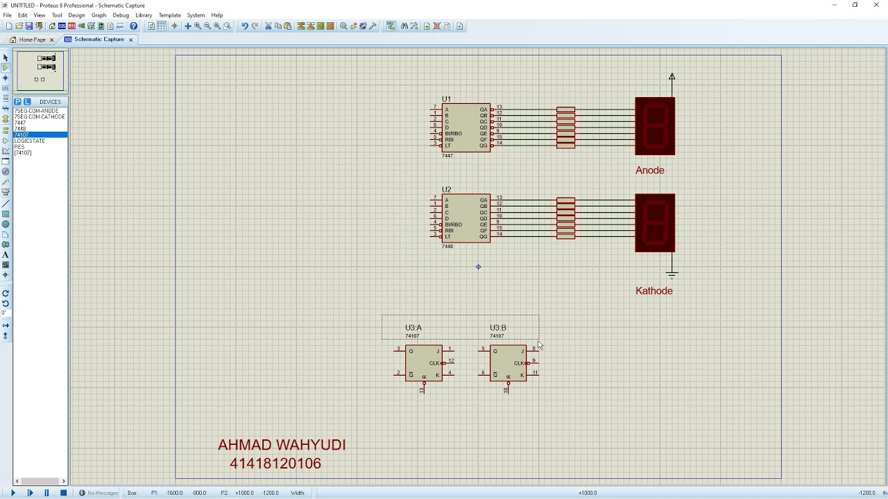Wiring Diagram Bcd With Seven Segment Anode And Kathode