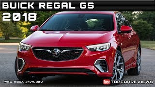 2018 BUICK REGAL GS Review Rendered Price Specs Release Date