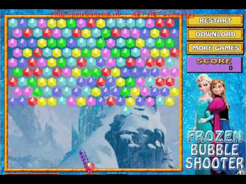 Frozen Bubble Shooter game online
