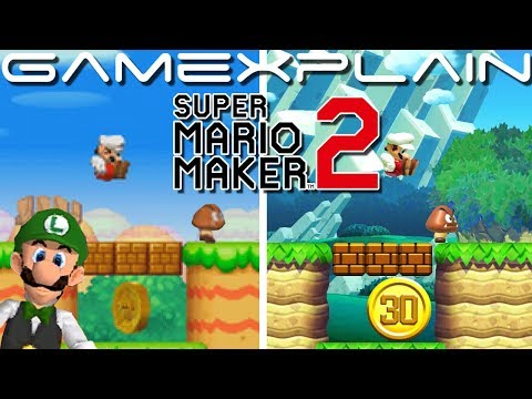 New Super Mario Bros. DS...U! 1-1 Remade In Super Mario Maker 2