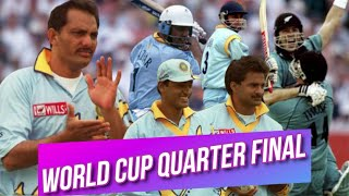 India take on New Zealand at Nottingham   World Cup 1999 Quarter Final Highlights