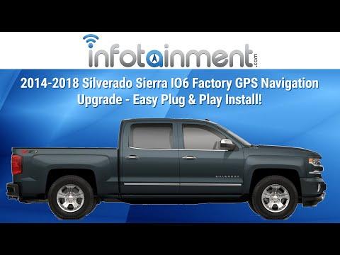 2014-2018 Silverado Sierra IO6 Factory GPS Navigation Upgrade - Easy Plug & Play Install!