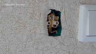 Как закрепить розетку на стене?(Видео показывает, как правильно закрепить крышку розетки на стене., 2016-10-07T06:45:37.000Z)
