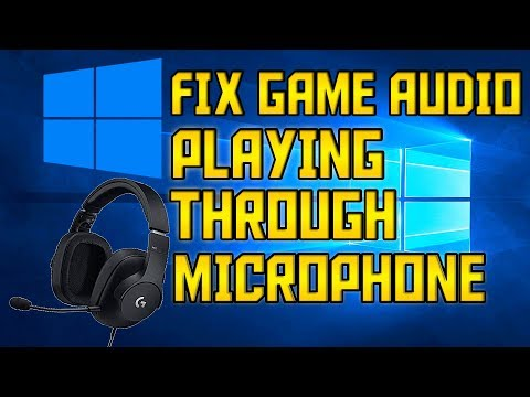 fix-game-audio-echoing-through-microphone!-*2020!*-(works-with-any-pc!)