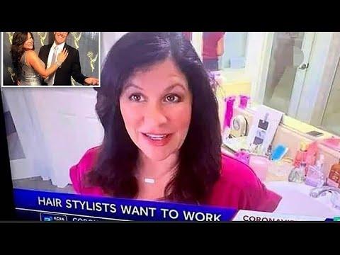California TV reporter accidentally films her husband