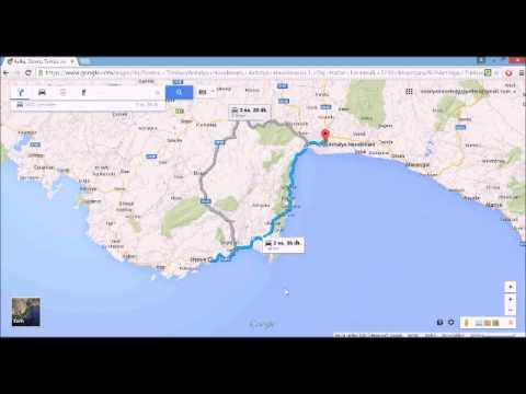 Antalya Havalimanından Demreye Demre Nasıl Gidilir