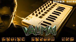 Valimai Motion Poster - BGM - Stephen Sixtus   Ajith Kumar   Yuvan Shankar Raja  