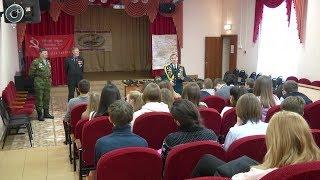 Ветераны боевых действий в Афганистане провели необычный урок для новосибирских старшеклассников