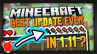 BEST UPDATE EVER in MINECRAFT 1.11?!