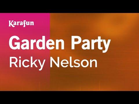 Karaoke Garden Party - Ricky Nelson *