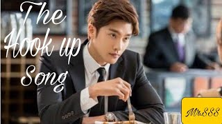 New latest Romantic  Crush love  story | The hook up song  |  Korean Hindi Remix  song | Mr.SSS