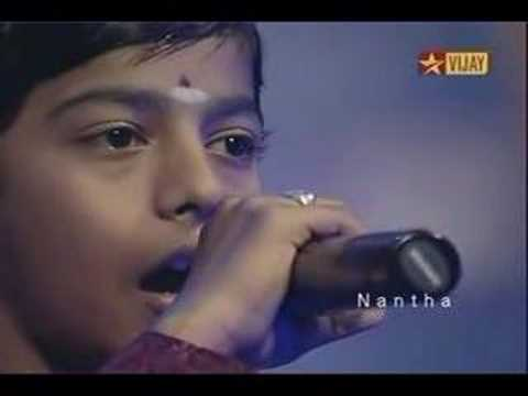 MaruthaMalai Maamaniye - Super Singer Junior Vignesh