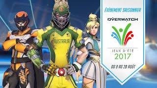 Évènement saisonnier : les jeux d'été 2017 d'Overwatch