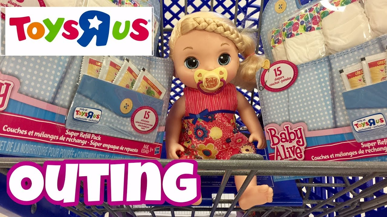 Toys And Tears : Baby alive toys r us outing with phoebe sweet