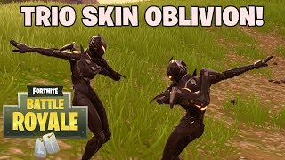 TRIO SKIN OBLIVION! - Fortnite: Battle Royale (w/ Afif Yulistian, Zota FRZ) [Indonesia]