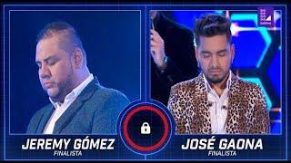 Los Cuatro Finalistas: José Gaona y Jeremy Gómez batallaron por llegar al duelo final
