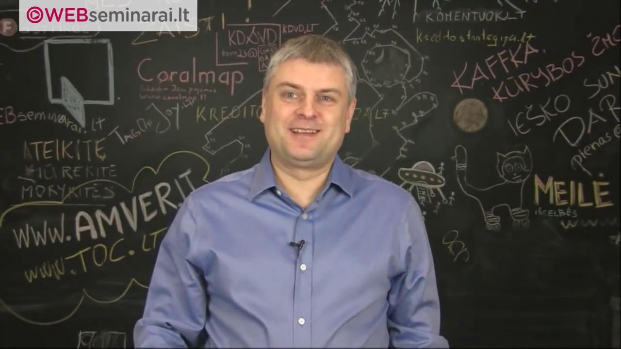 Nerius Jasinavičius – TOC ir LEAN ekspertas