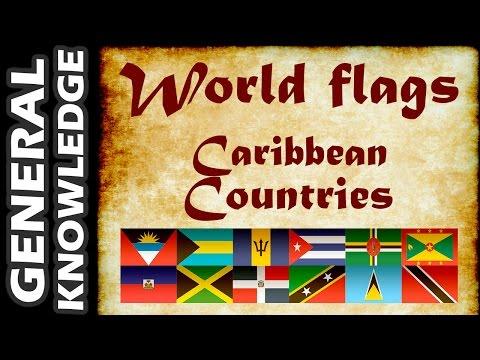 World Flags - Caribbean Countries