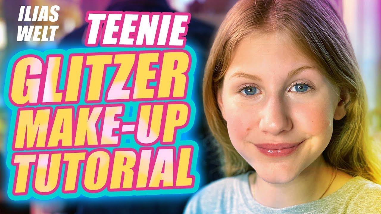 ILIAS WELT - Glitzer-Make-up