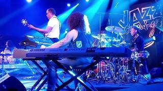 "STANLEY CLARKE Band  - Live - : ""Good Bye Pork Pie Hat""  at  ""Jazz en Comminges 2018,"