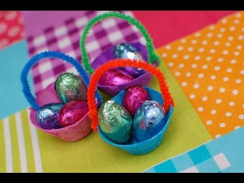 Mini easter baskets inner child fun youtube negle Gallery